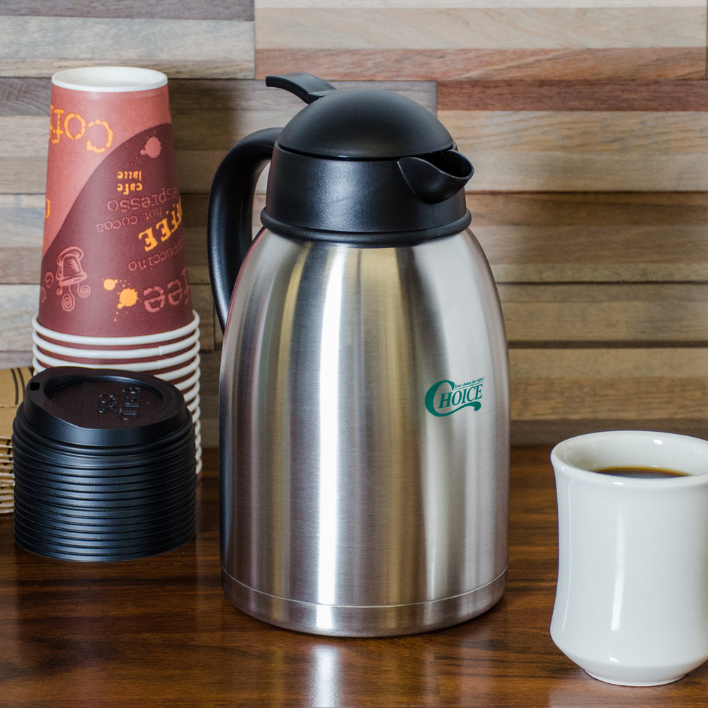 Choice 1.9 Liter Insulated Thermal Coffee Server