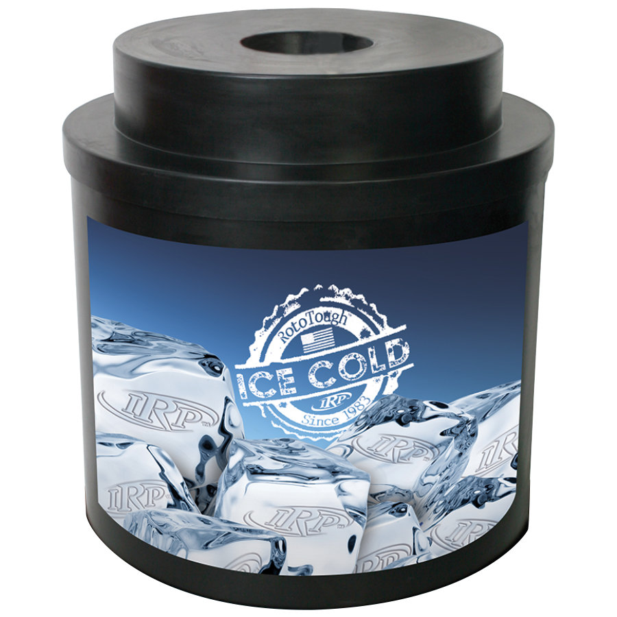 Black Super Cooler I 010 Keg Beverage Cooler
