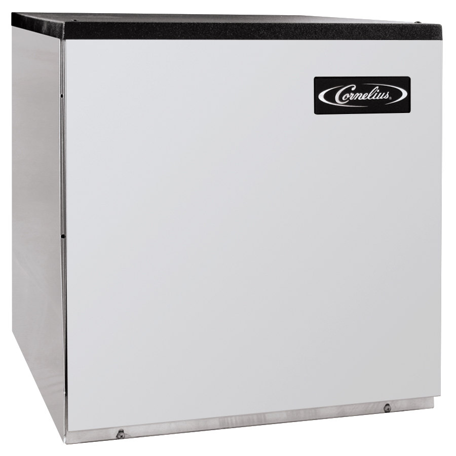 "Cornelius CCM0522WH1 Nordic Series 22"" Water Cooled Half Size Cube Ice Machine - 507 lb."