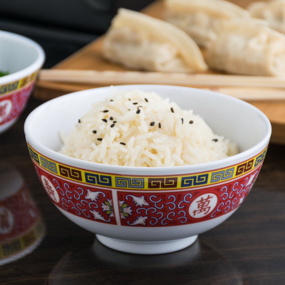 Longevity 12 oz. Round Melamine Rice Bowl - 12/Case