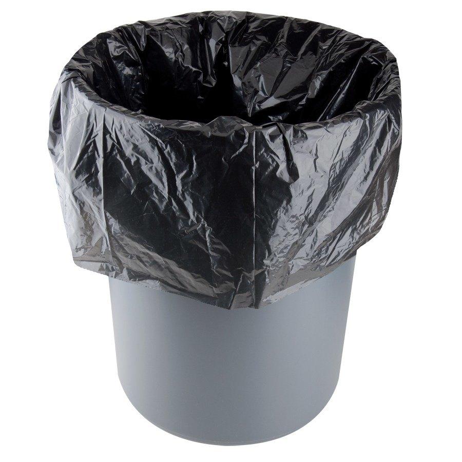 Li L Herc Repro Trash Bag 33 Gallon 1 5 Mil 33 Quot X 39 Quot Low