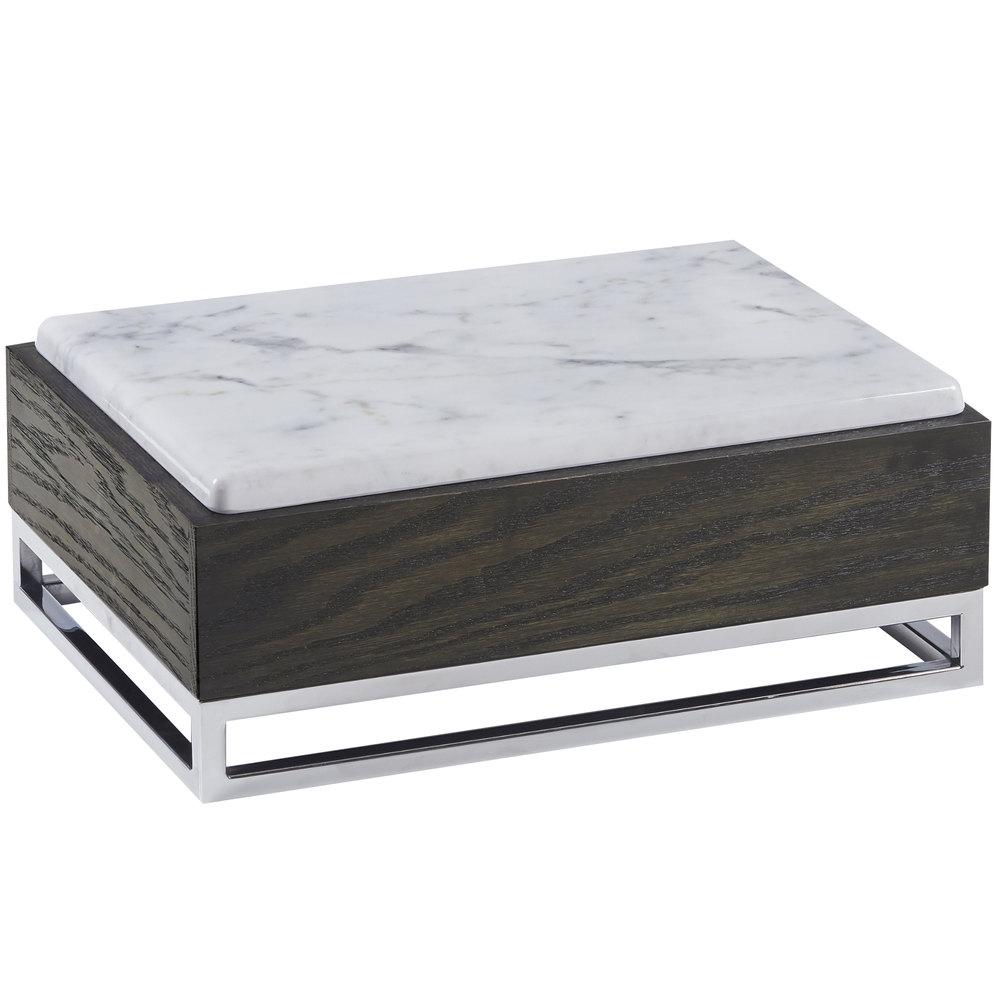 Cal Mil 3822 6 87 Cinderwood Marble Riser 15 X 11 X 6 1 4
