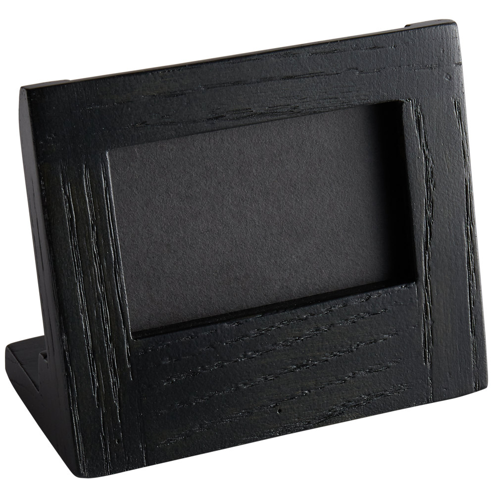 Cal Mil 3818 23 87 Cinderwood 3 X 2 Chalkboard Stand With Black Chalkboard