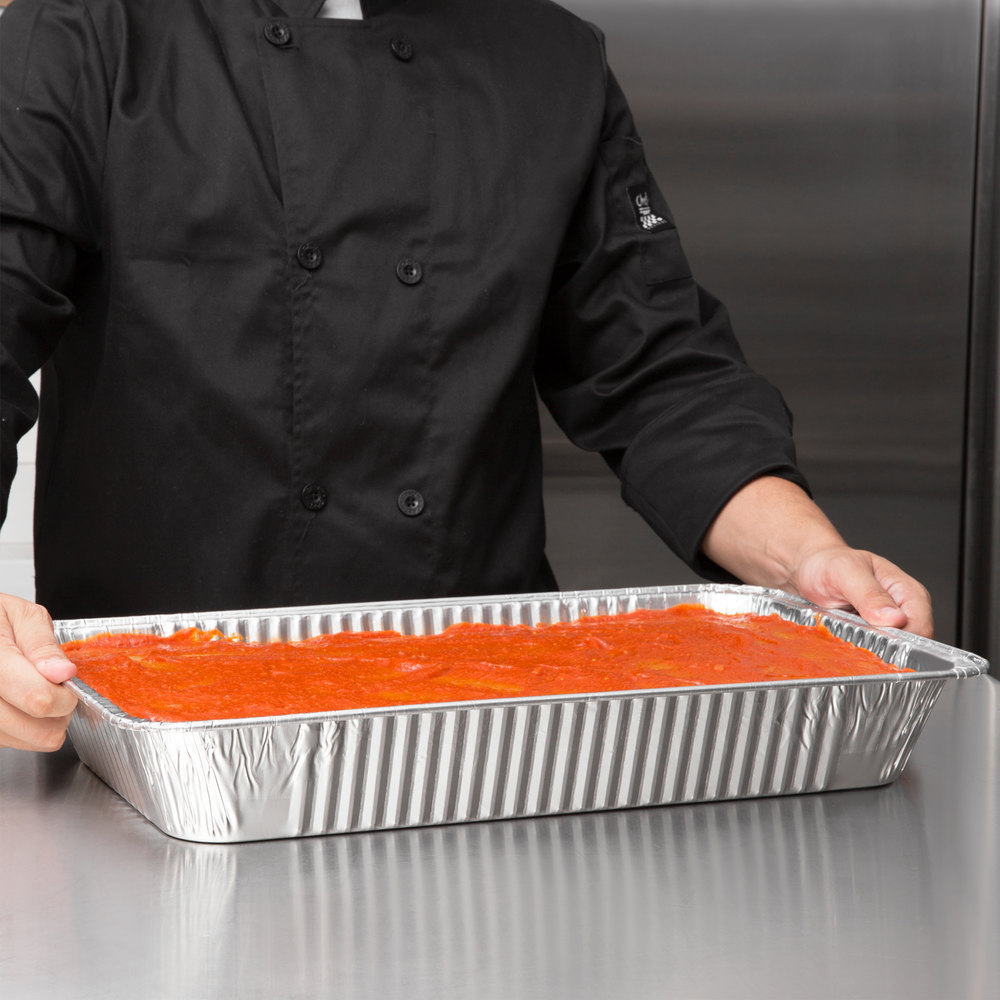 Choice Full Size Foil Steam Table Pan - 10/Pack