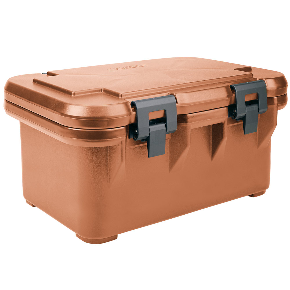 Cambro UPCS180157 Coffee Beige S-Series Ultra Food Pan Carrier Insulated Top Loading