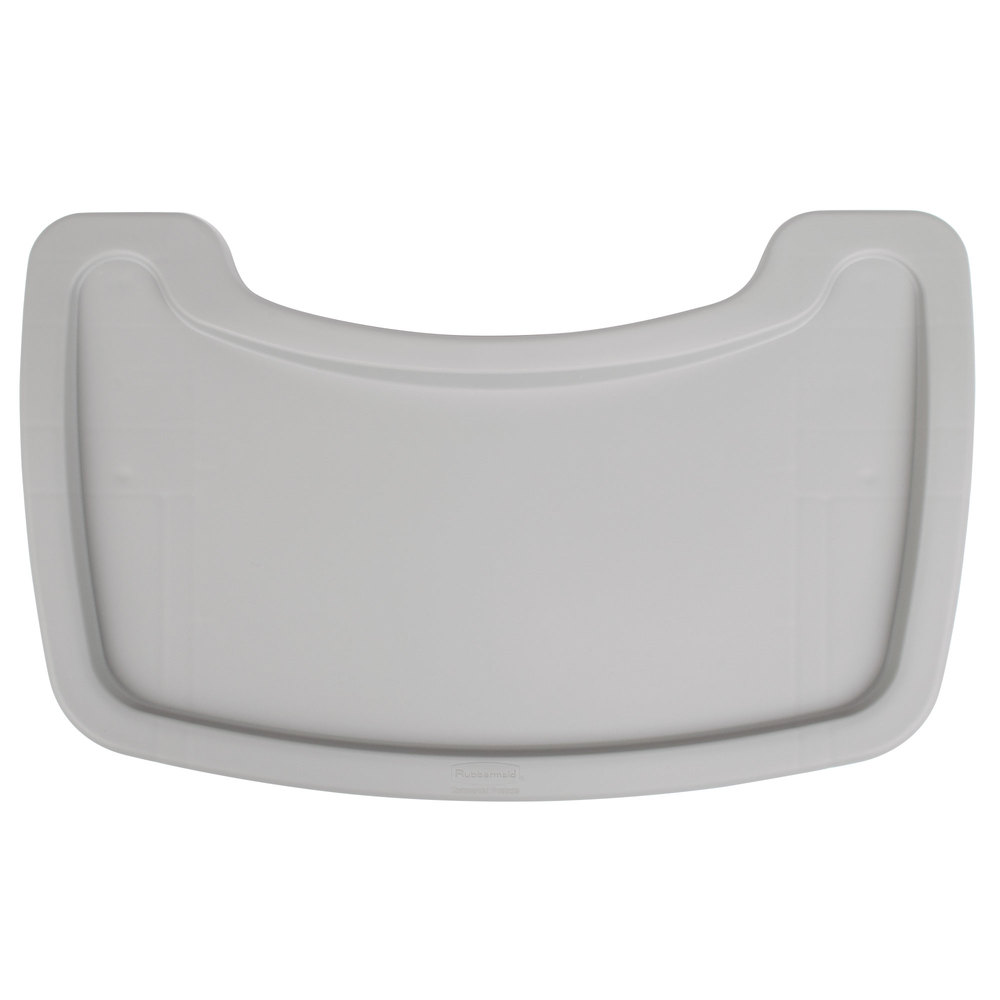 Rubbermaid Fg781588plat Platinum Restaurant High Chair Tray