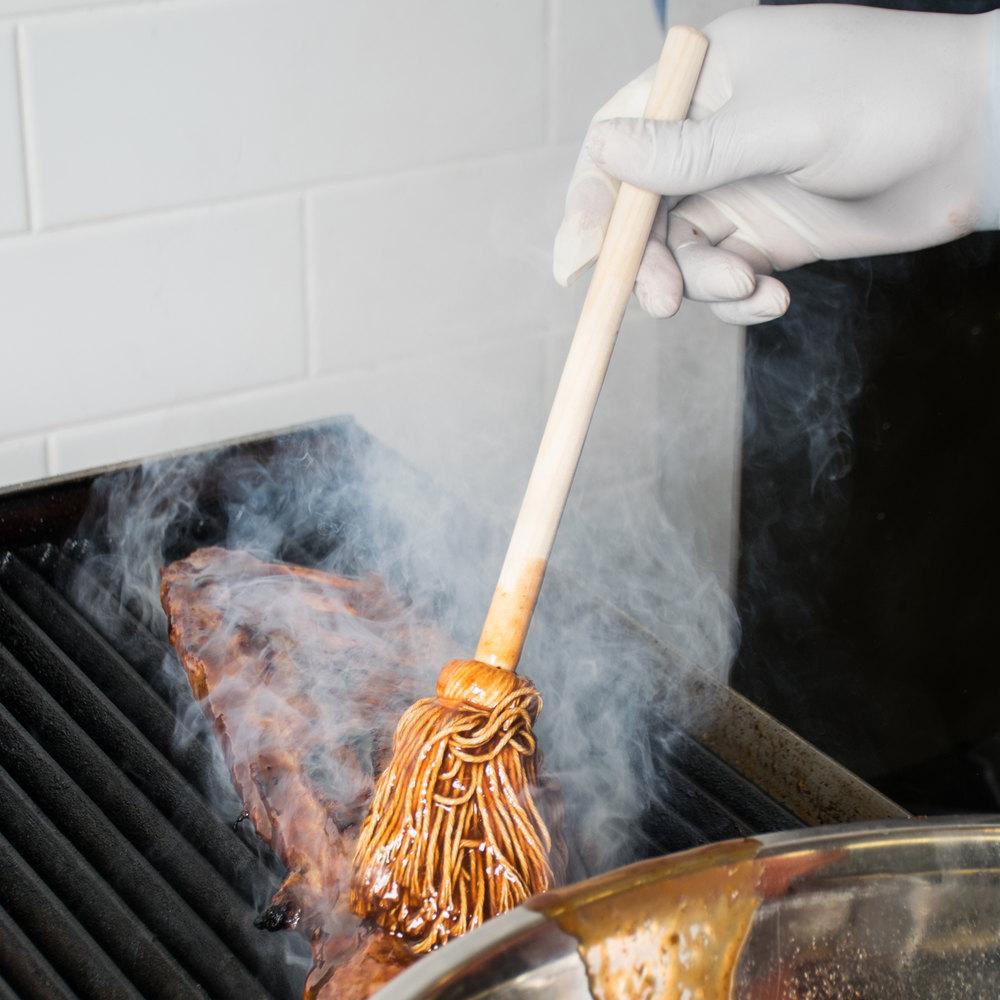 12 Quot Barbecue Brush Mop