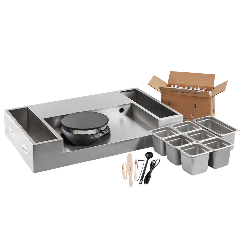 Carnival King 50-piece Made-To-Order Crepe Station