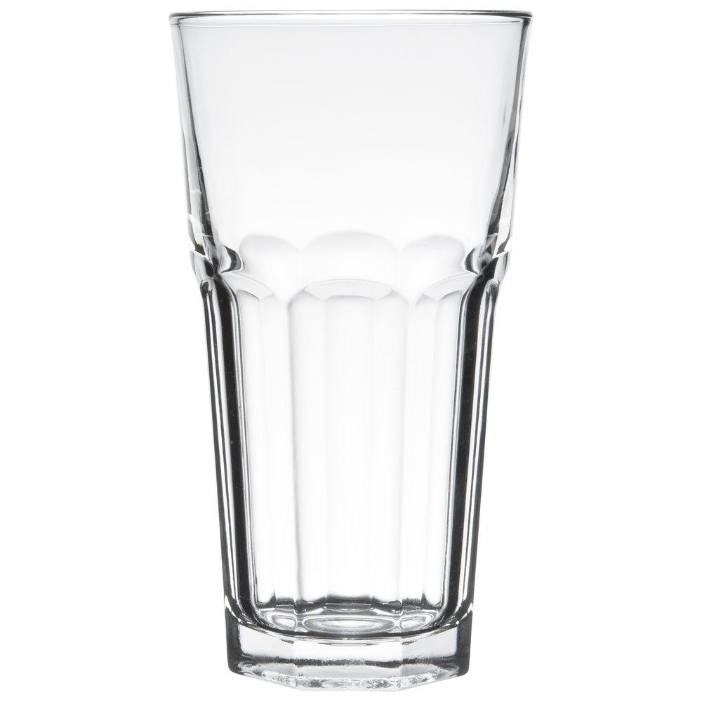 Set of 6 Libbey 15253 Gibraltar DuraTuff 22 oz Iced Tea Glass