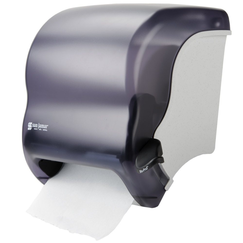 san jamar t950tbk element roll towel dispenser black pearl - Commercial Bathroom Paper Towel Dispenser
