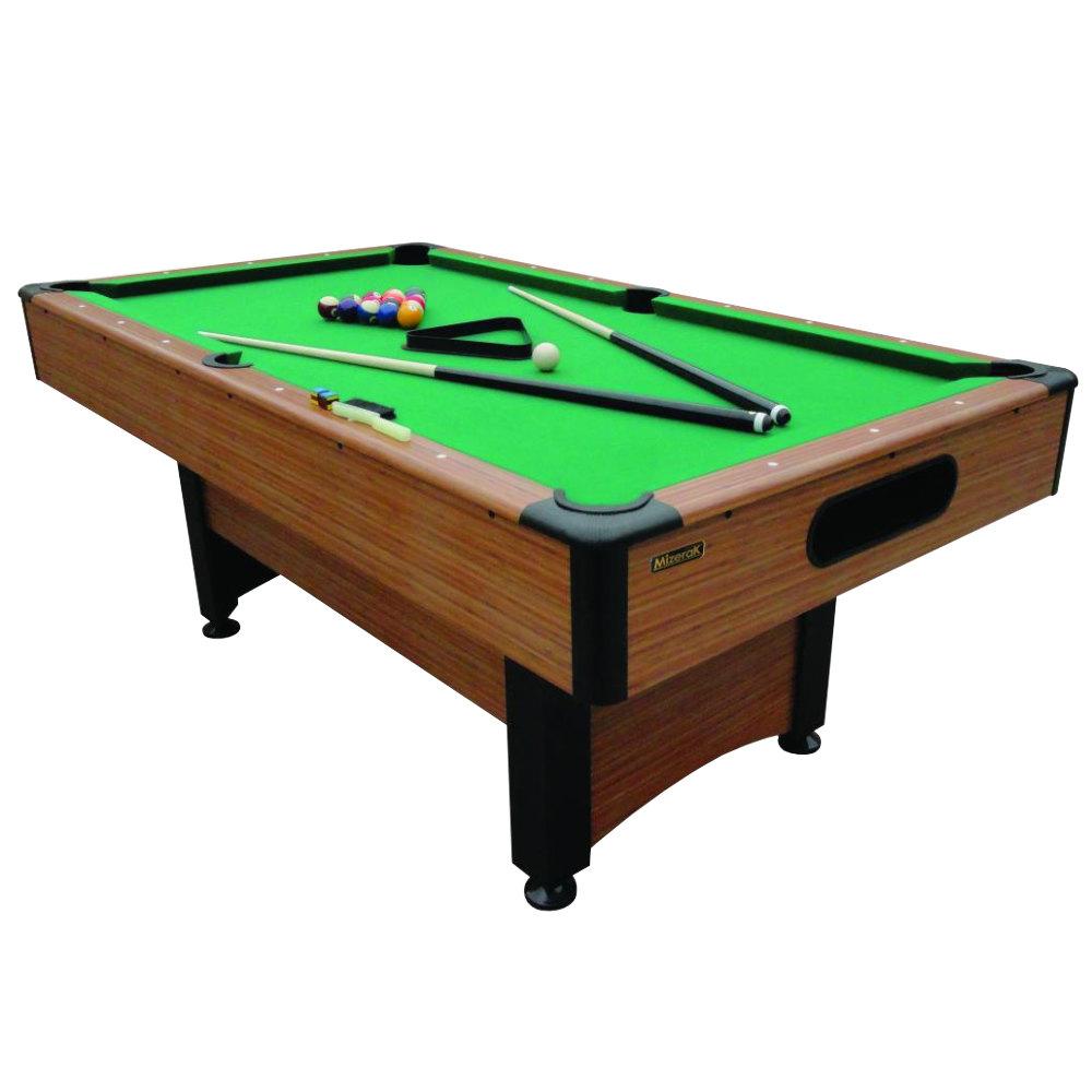 Mizerak p1253w pool table w accessories 6 1 2 39 - Pool table images ...