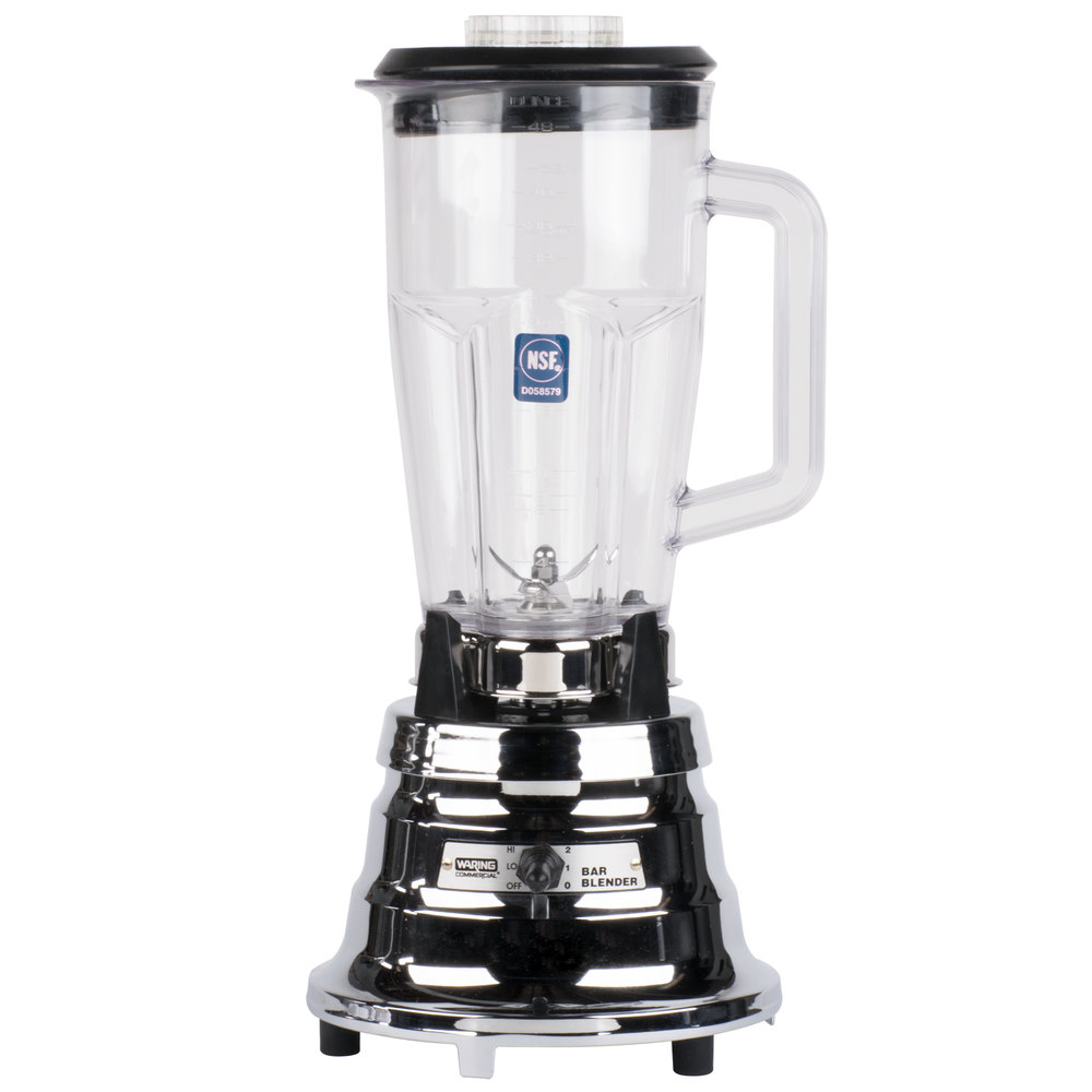 959942 waring bb900p 48 oz two speed chrome bar blender  at readyjetset.co