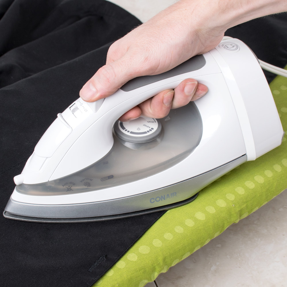 Conair WCI306R White Cord-Keeper Steam Iron
