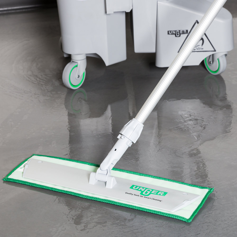 "Unger SV40G 18"" Damp Mop Pad Holder for DD40 and DV40 Series Mop Pads"