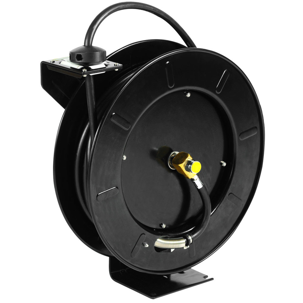 Gh garden hose outlet adapter - Equip By T S 5hr 242 01 Gh Hose Reel With Garden Hose Adapter And Spray Valve 50 Hose
