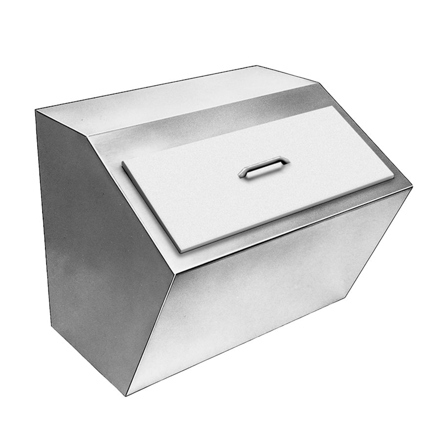 Delfield 240 Drop In Stainless Steel Ice Chest with Cover