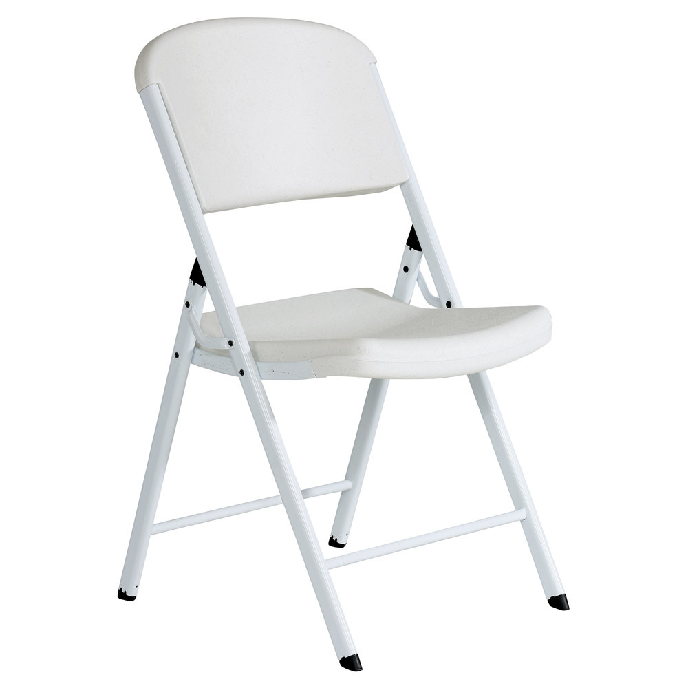 Swell Lifetime 80359 White Contoured Folding Chair 4 Pack Pdpeps Interior Chair Design Pdpepsorg