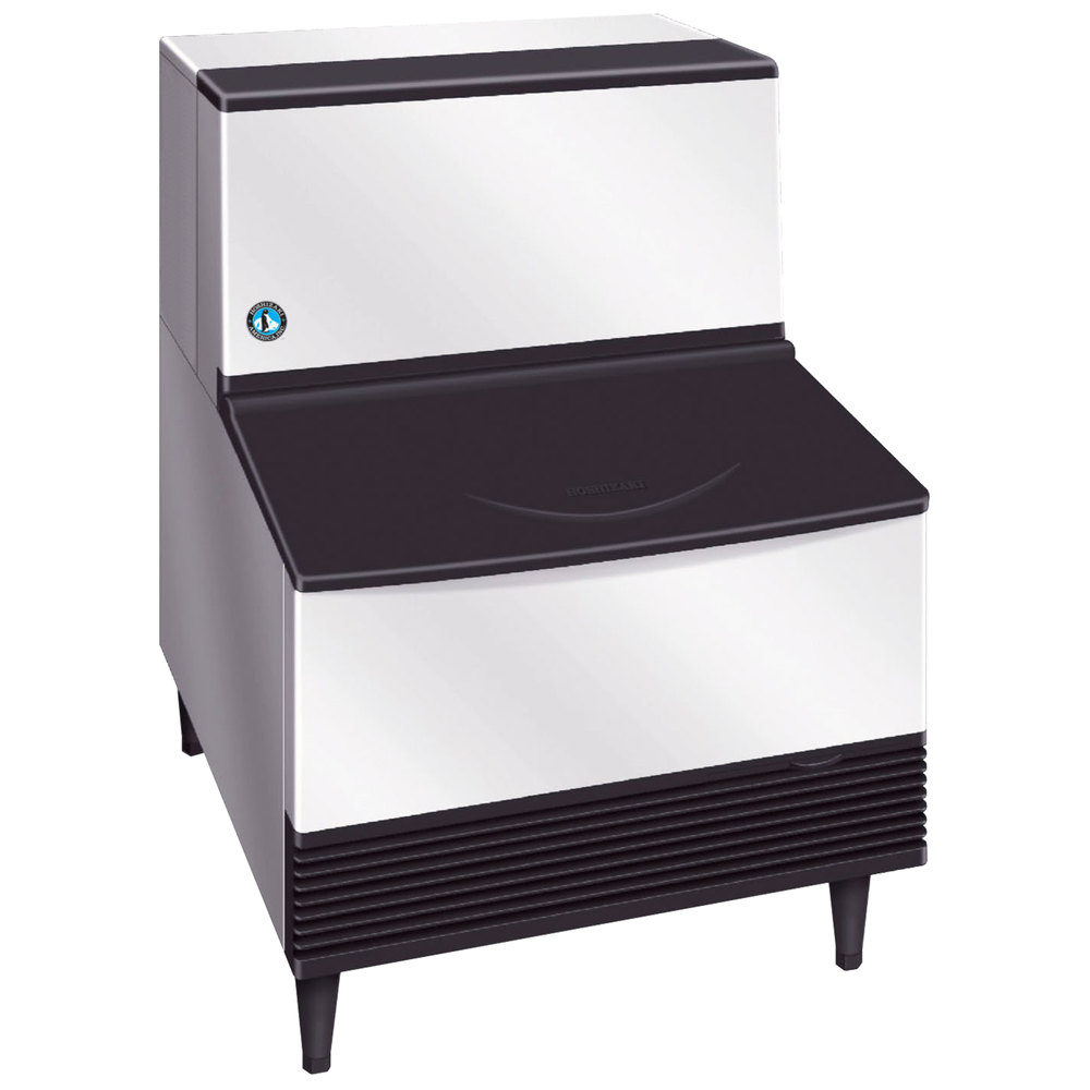 "Hoshizaki KM-201BAH 24"" Air Cooled Undercounter Crescent Cube Ice Machine - 201 lb."