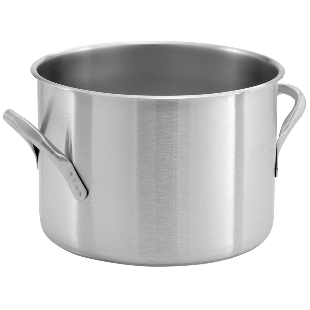 Vollrath 78580 Classic 11 1/2 Qt. Stainless Steel Stock ...
