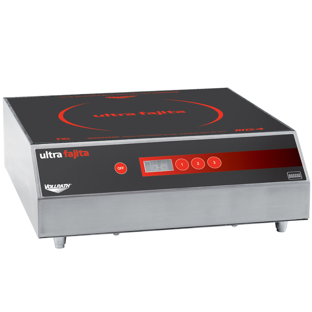 Vollrath 69504F Ultra Fajita Skillet Induction Heater - 208 / 240V, 3500W Scratch and Dent