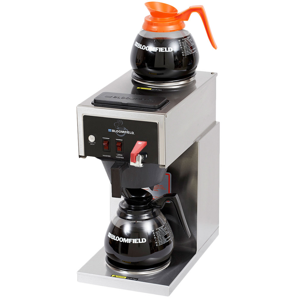 Bloomfield 8540D2F-120C Koffee King 2 Warmer In-Line Automatic Coffee Brewer - 120V (Canadian Use Only)