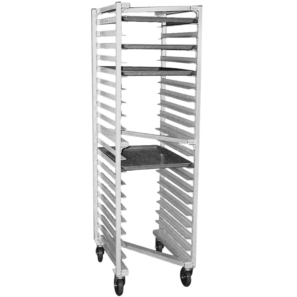 "Eagle Group OUR-182 0-3-N 20 Pan Panco ""Z"" Type Nesting Bun / Sheet Pan Rack - Assembled"