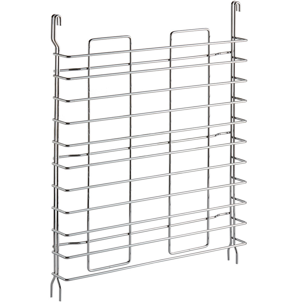 Regency Tray Slides for 18 inch Deep Chrome Shelves - 2/Pack