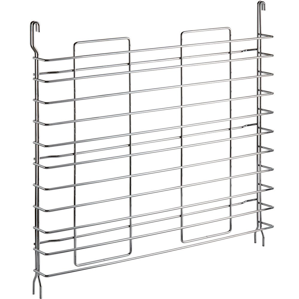 Regency Tray Slides for 24 inch Deep Chrome Shelves - 2/Pack