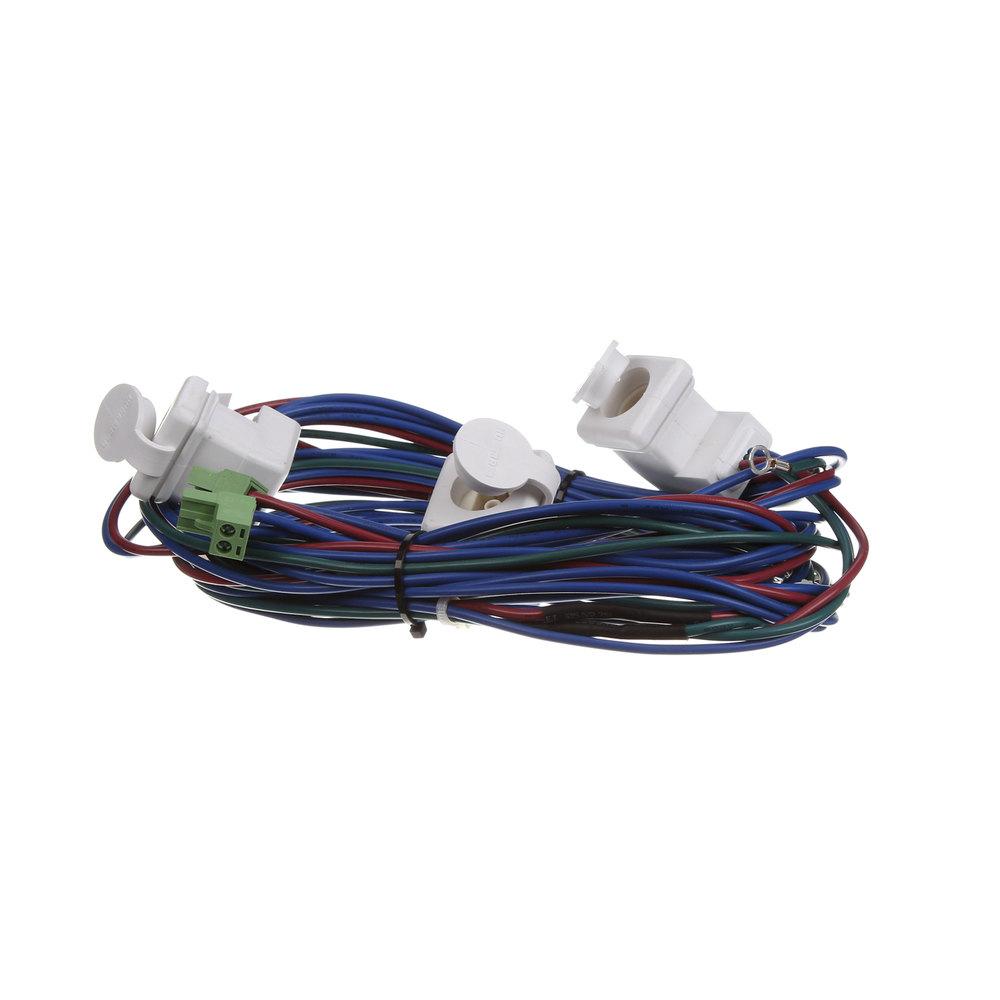 Hussmann 472691 3 Plug Receptacle Harness , Wh on