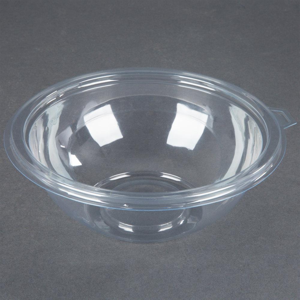 fineline super bowl 5032 cl 32 oz clear plastic bowl 50 pack. Black Bedroom Furniture Sets. Home Design Ideas