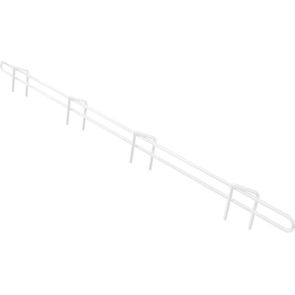 "Metro L18N-1W Super Erecta White Ledge 18"" x 1"""