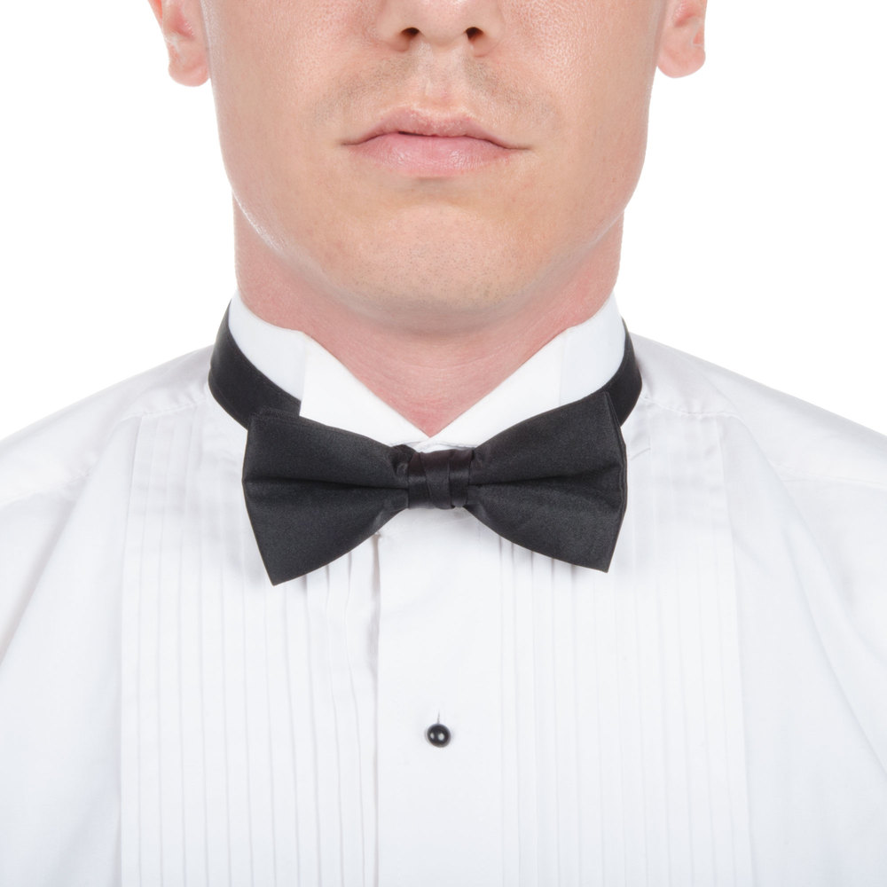 catering clothing server clothing quick look adjustable black bow tie