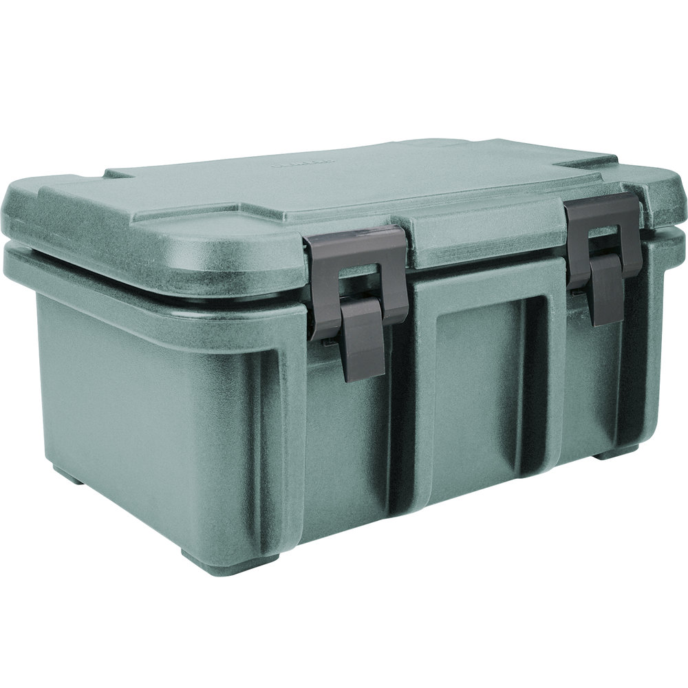 "Cambro UPC180401 Slate Blue Camcarrier Ultra Pan Carrier - Top Load for 12"" x 20"" Food Pan"
