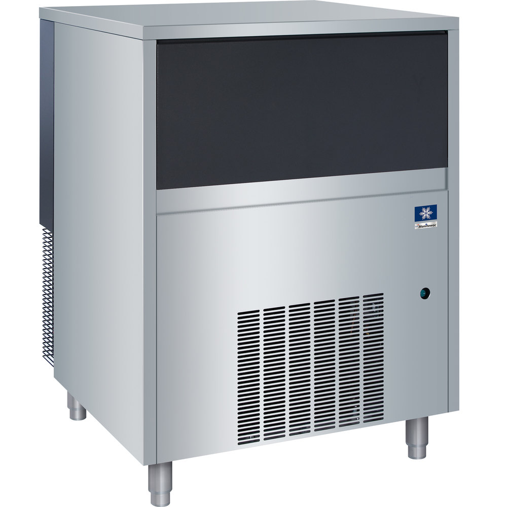"Manitowoc RNS-0385A 29 1/8"" Air Cooled Undercounter Nugget Ice Machine with 88 lb. Bin - 300 lb. Scratch and Dent"