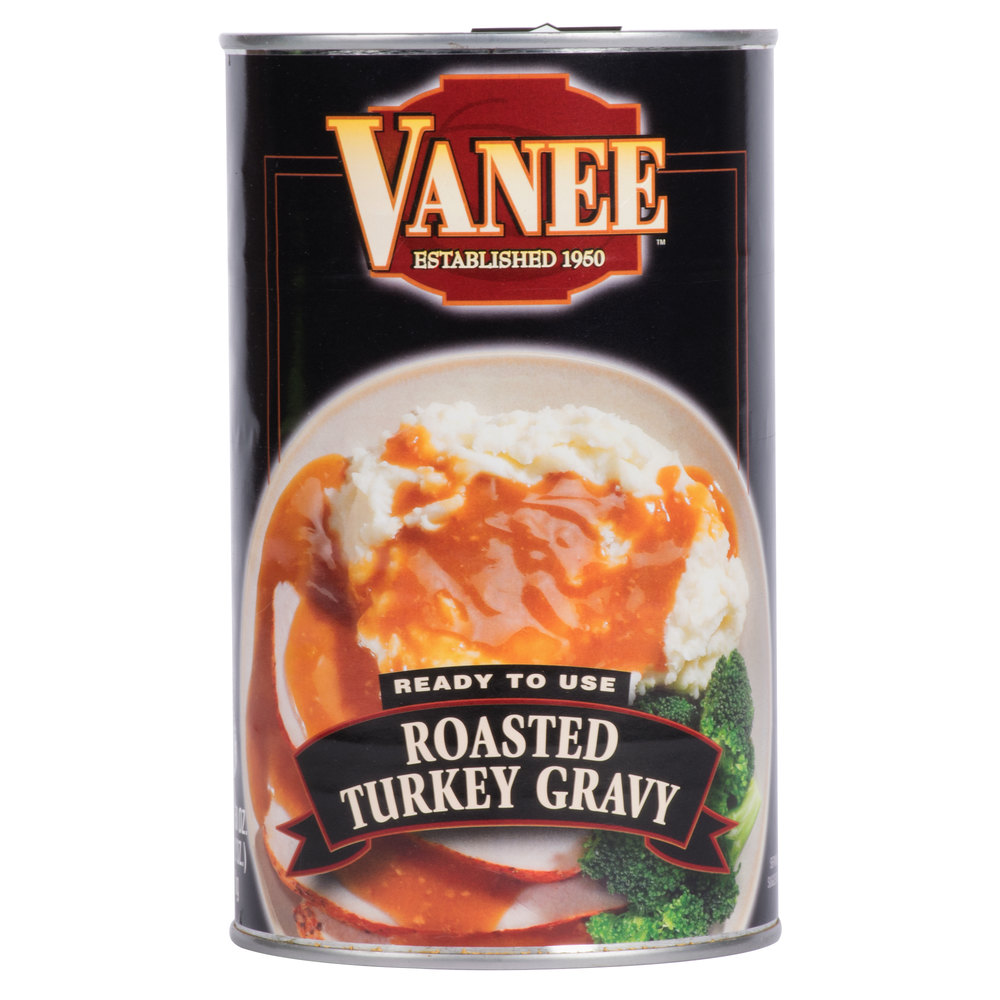 Vanee 550VT 50 oz. Roasted Turkey Gravy