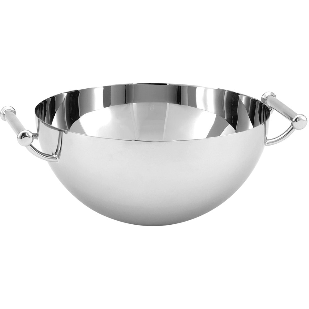 Vollrath 46625 1 Qt. Mirror-Finished Stainless Steel Serving Bowl with Handles