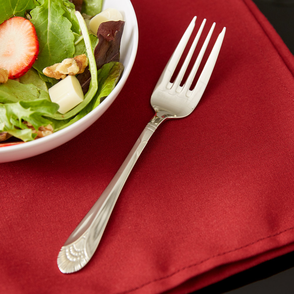 Marquis Flatware Stainless Steel Salad Fork - 12/Pack