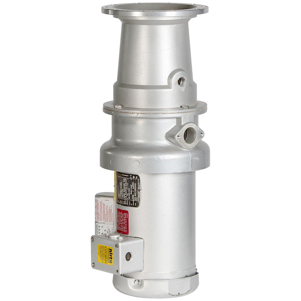 Hobart FD4/75-2 Commercial Garbage Disposer with Long Upper Housing - 3/4 hp, 208-240/480V