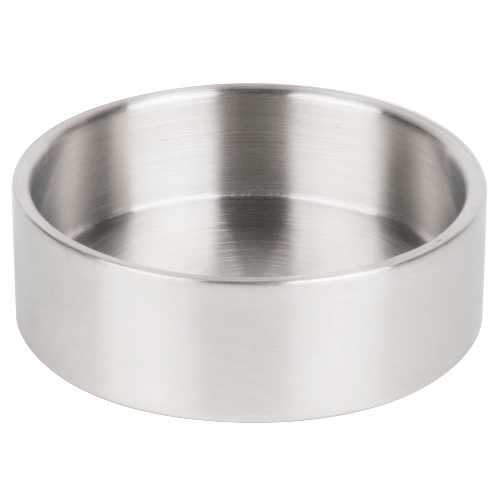 Cal-Mil 1851-4BASE Stainless Steel Replacement 16 oz. Mixology Jar Base