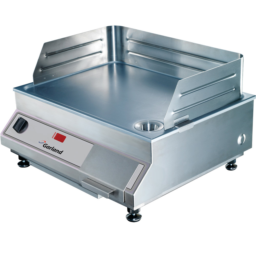 "Garland GI-SH/GR 5000 21"" Countertop Induction Griddle - 5 kW"