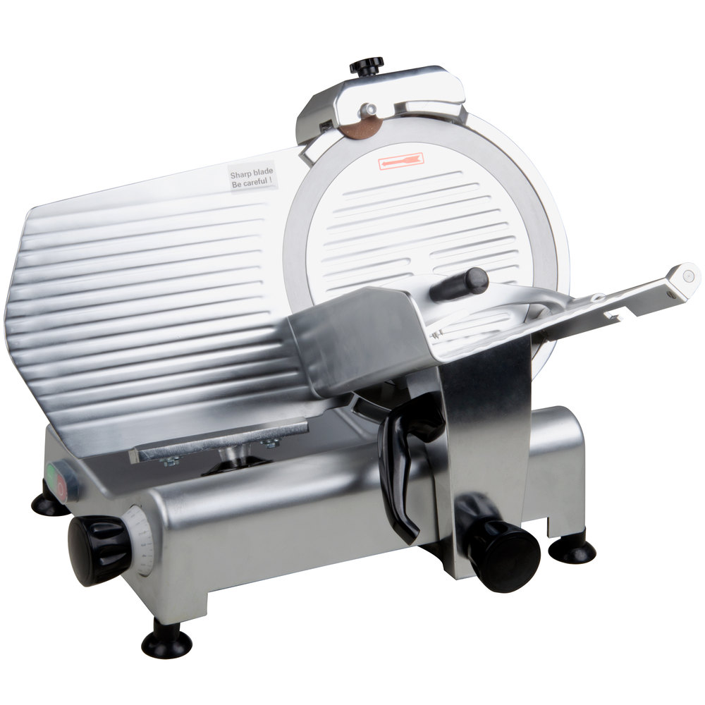 Avantco Sl312 12 Manual Gravity Feed Meat Slicer 1 3 Hp