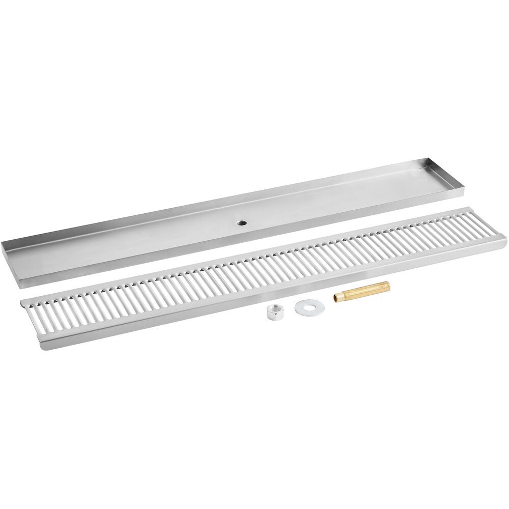 Regency 600BDR30S 30 inch Stainless Steel Surface Mount Beer Drip Tray
