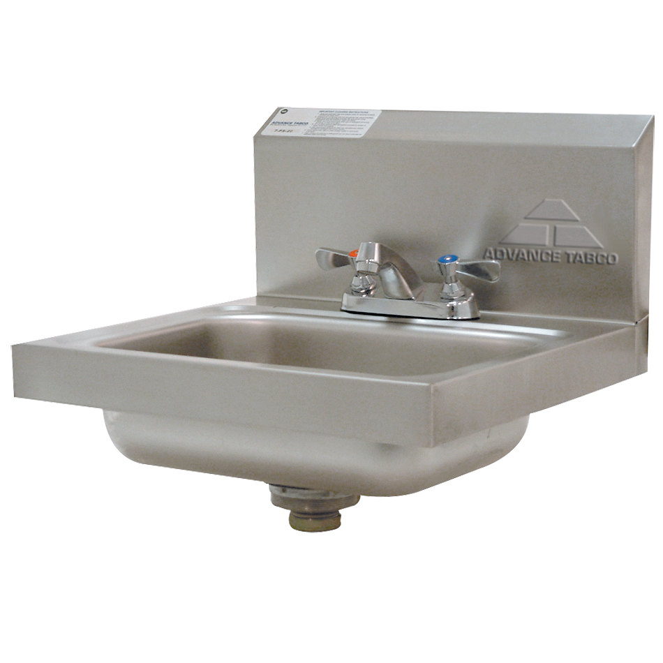 Advance Tabco 7 Ps 20 Stainless Steel Hand Sink With