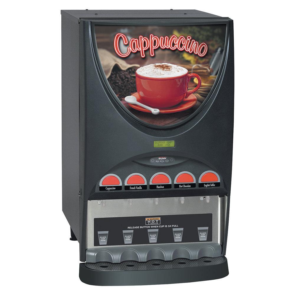 bunn imix 5 cappuccino espresso machine hot. Black Bedroom Furniture Sets. Home Design Ideas