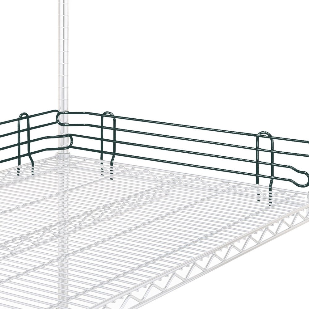 "Metro L18N-4-DSG Super Erecta Smoked Glass Stackable Ledge 18"" x 4"""