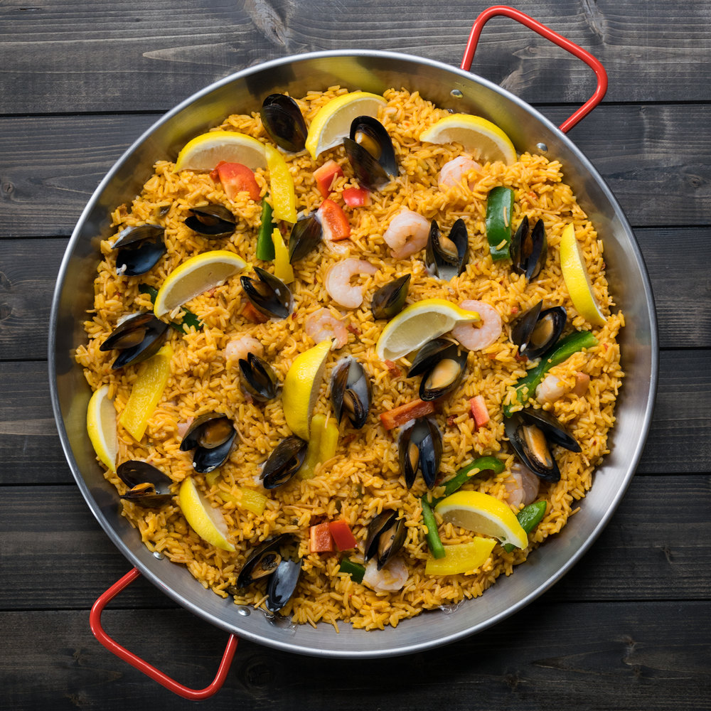 What is a paella pan called