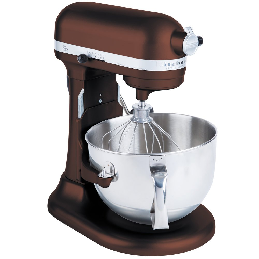 Kitchenaid Kp26m1xes Espresso Professional 600 Series 6 Qt