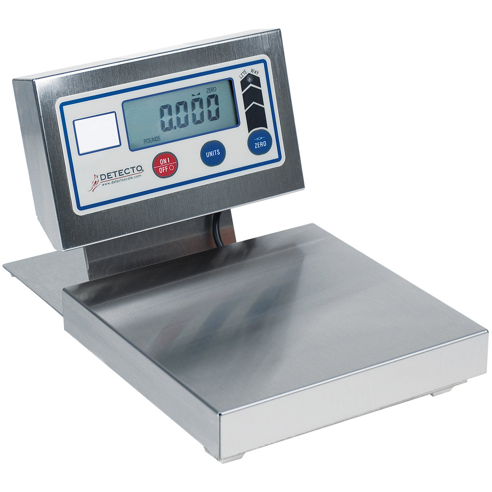 Cardinal Detecto PZ3030 30 lb. Digital Ingredient Scale