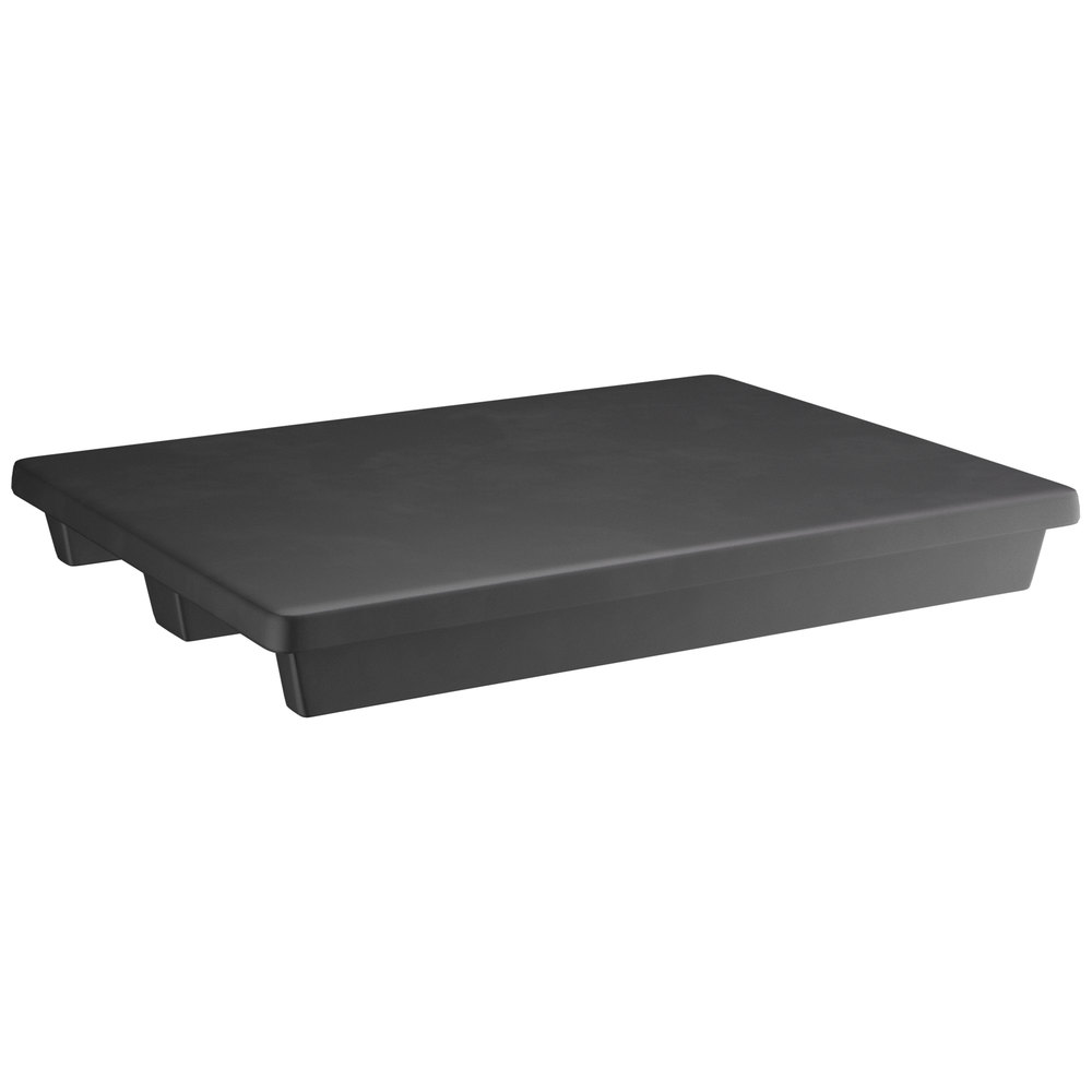 Regency 48 inch x 36 inch x 6 inch Black Plastic Display Base / Spot Merchandiser - 1500 lb. Capacity