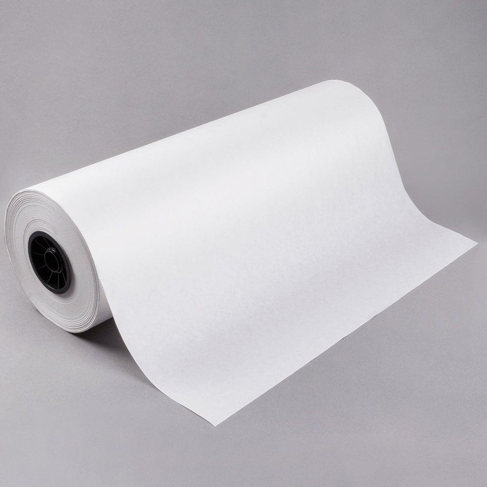 24 X 1000 40 Lb White Freezer Paper Roll